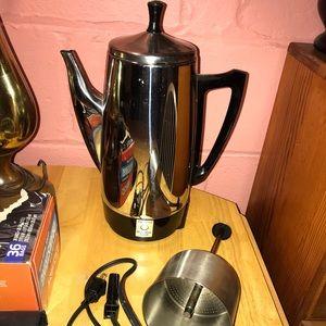 Vintage Perculator Coffee Pot Maker NEW